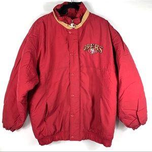 Vintage Starter San Francisco 49ers Puffer Jacket